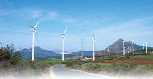 Adhesives for Wind Energy Industry Wind Mill
